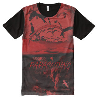 PARAGLIDING PG-37 Ponto Central All-Over Print T-Shirt