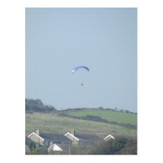 Paragliding Postcard