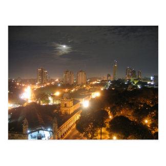 Paraguay - Asunción - At Night Postcard