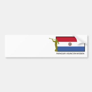 Paraguay Asuncion Mission LDS CTR Bumper Sticker