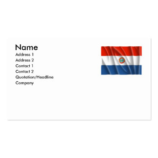 PARAGUAY BUSINESS CARDS