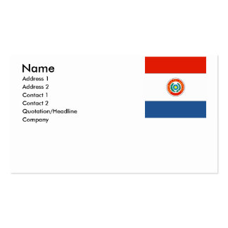 Paraguay Business Card