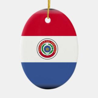 Paraguay Christmas Ornament