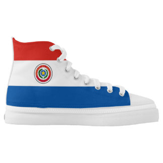 Paraguay country flag symbol nation high tops