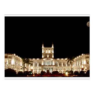 Paraguay - De luxe hotel off The López Postcard