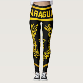 Paraguay Emblem Leggings