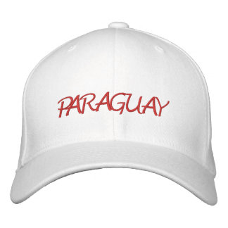 Paraguay Embroidered Baseball Caps