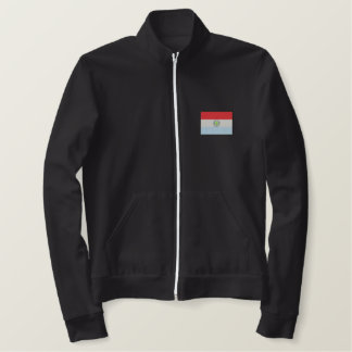 Paraguay Embroidered Fleece Jogger Jacket