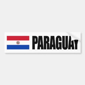 Paraguay Flag Bumper Sticker