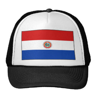 Paraguay Flag Hat