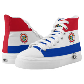 Paraguay Flag High Tops