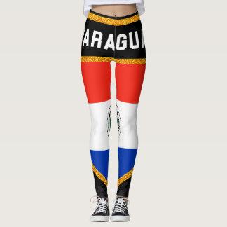 Paraguay Flag Leggings