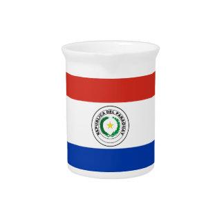 Paraguay Flag Pitcher