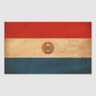 Paraguay Flag Rectangular Sticker