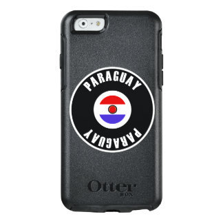 Paraguay Flag Simple OtterBox iPhone 6/6s Case