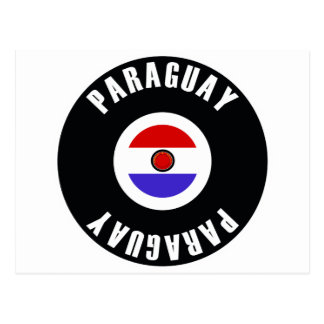 Paraguay Flag Simple Postcard