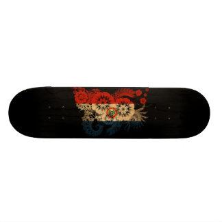 Paraguay Flag Skate Board