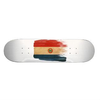 Paraguay Flag Skate Boards
