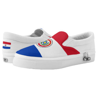 Paraguay Flag Slip On Shoes