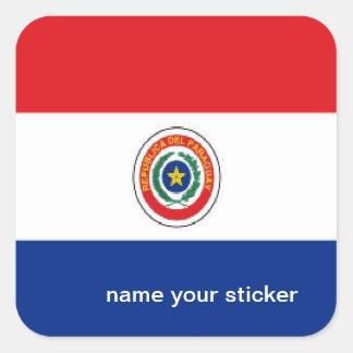 Paraguay flag sticker