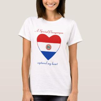 Paraguay Flag Sweetheart T-Shirt