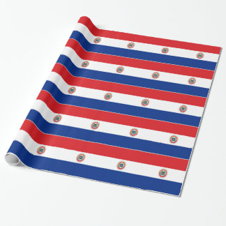 Paraguay Flag Wrapping Paper