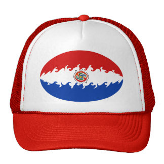 Paraguay Gnarly Flag Hat