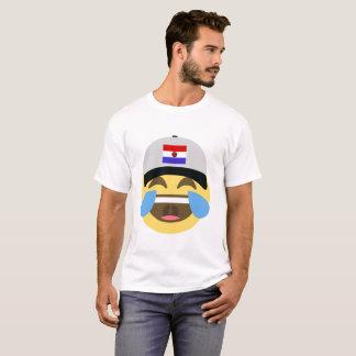 Paraguay Hat Laughing Emoji T-Shirt