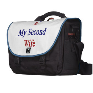 Paraguay Is My Second Wife Laptop Commuter Bag