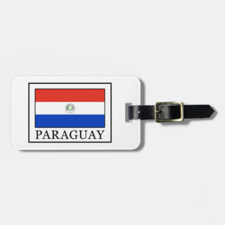 Paraguay Luggage Tag