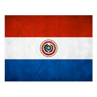 Paraguay National Flag Post Card