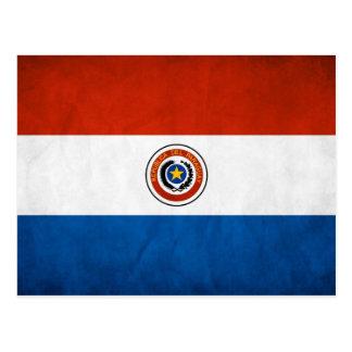 Paraguay National Flag Postcard