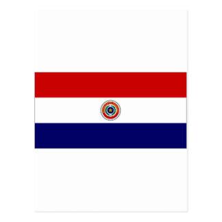 Paraguay Naval Jack Postcard