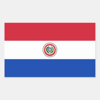 Paraguay/Paraguayan Flag Rectangular Sticker