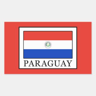 Paraguay Rectangular Sticker