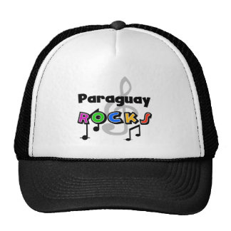Paraguay Rocks Mesh Hats