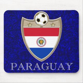 Paraguay Soccer Mousepad