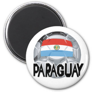 Paraguay Soccer swag Magnet