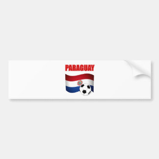 Paraguay Soccer T-Shirts Bumper Stickers