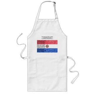 Paraguay - Tetã Paraguái Momorãhéi Long Apron