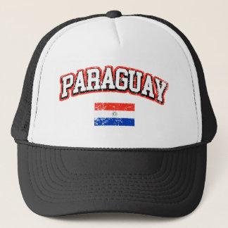 Paraguay Vintage Flag Trucker Hat
