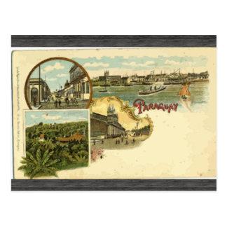 Paraguay, Vintage Postcard