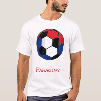 Paraguay World Cup Soccer T-Shirt