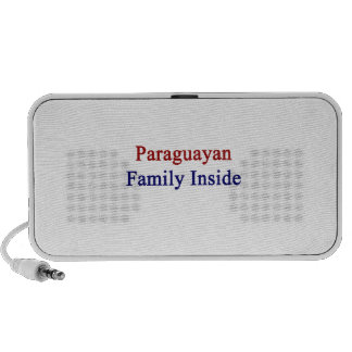 Paraguayan Family Inside Notebook Speakers