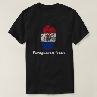 Paraguayan touch fingerprint flag T-Shirt