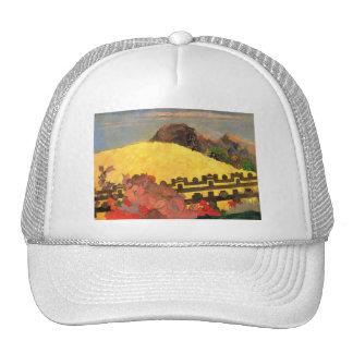 'Parahi Te Marae' - Paul Gauguin Cap
