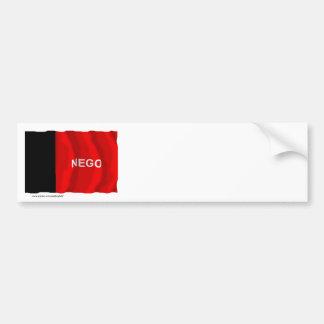 Paraíba, Brazil Waving Flag Bumper Sticker