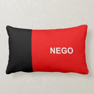 Paraiba flag Brazil region province symbol nego Lumbar Cushion
