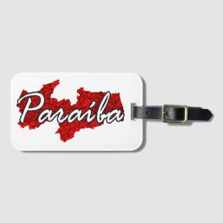 Paraíba Luggage Tag