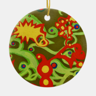 Paraiso Ornament by baird duschatko
